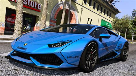 lamborghini huracan lp  libertywalk add  gta