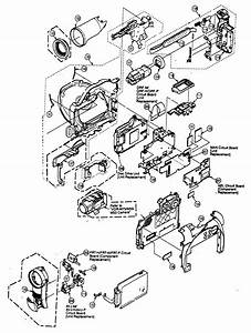 Panasonic Dvd Video Camera  Recorder Parts