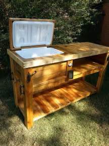 wooden chest patio bar outlaw creations quot what we make and sell quot bar