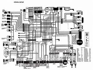 Honda Motorcycle Cb750f Wiring Diagram