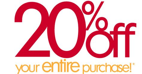 20% Off Your Entire Purchase At Ulta!