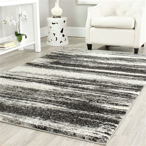 Safavieh Retro by Safavieh Ret2693 8479 Retro Area Rug Grey Light