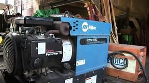Miller Bobcat 225g Welder  Generator