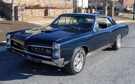 Classic Pontiac Wallpaper by Car Cars Pontiac Gto Wallpapers Hd Desktop And