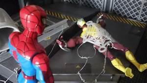 Spider-Man Vs Shocker stop motion - YouTube