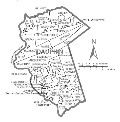 united states bureau of the census file map of dauphin county pennsylvania png