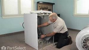 Dryer Repair - Replacing The Rear Drum Bearing Kit