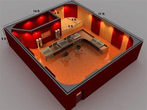 home recording studio initial room attachment