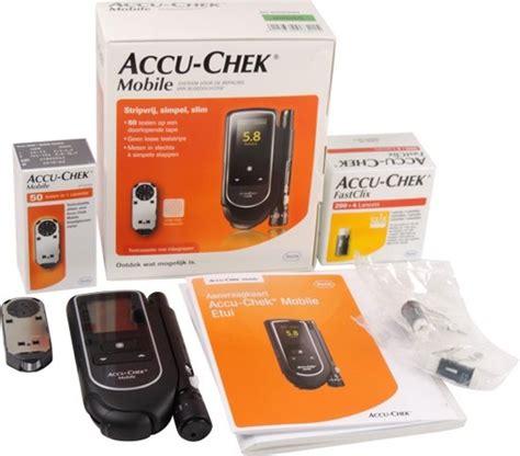 mobile cassette roche bol accu chek mobile set meter cassette 200