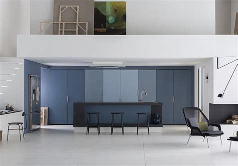 mur cuisine bleu cuisine blanche mur bleu cheap awesome cuisine mur bleu