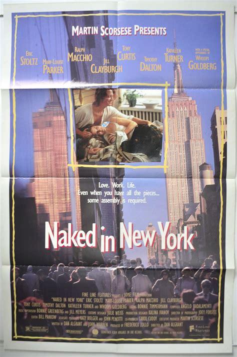 naked   york original cinema  poster