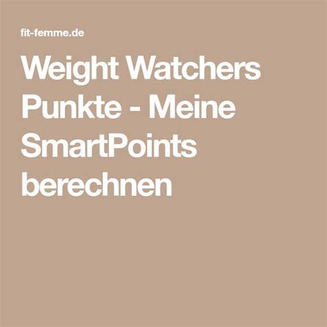 die besten  weight watchers punkte berechnen ideen auf