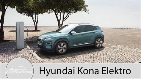 kompakt suv 2015 2018 hyundai kona elektro kurz und kompakt alles wichtige
