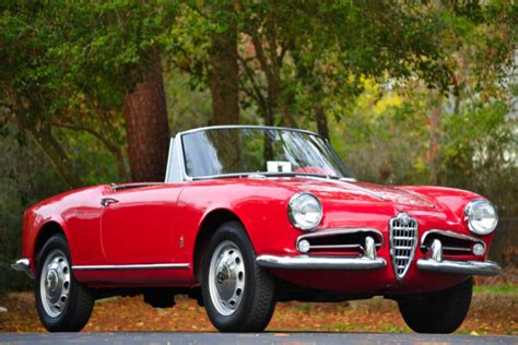 1962 Alfa Romeo Spider  Information And Photos Momentcar