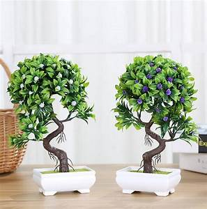 Mini Plante Artificielle : mini plante artificielle d cor d coratif plante en pot pour salon maison bureau en gros au ~ Teatrodelosmanantiales.com Idées de Décoration