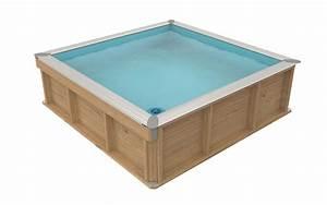 Pool Kaufen Günstig : procopi kinder holzpool mit poolabdeckung g nstig kaufen ~ Articles-book.com Haus und Dekorationen