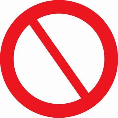 Sign Empty Prohibited Clip Clker Hi Clipart