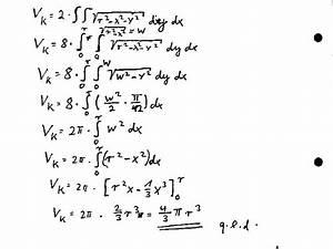 Doppelintegrale Berechnen : zahlreich mathematik hausaufgabenhilfe volumen per ~ Themetempest.com Abrechnung