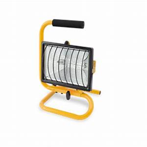 Arlec w portable halogen worklight i n
