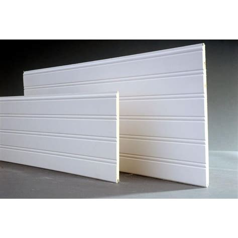 Wainscoting Wall Panels Home Depot by 14 Sq Ft Cape Cod Mdf Beadboard Planks 3 Pack 8203035
