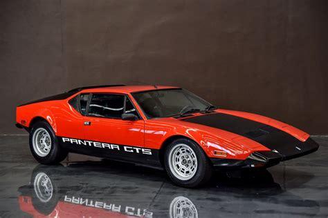 1971 De Tomaso Pantera GTS - Gosford Classic Car Museum by ...