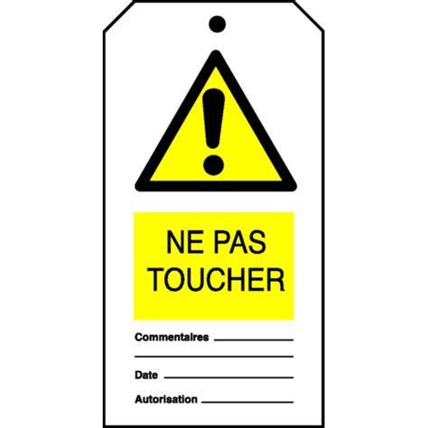 affiche ne pas d anger pour bureau etiquette ne pas toucher stocksignes