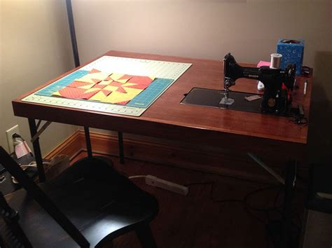 singer featherweight  card table fits singer
