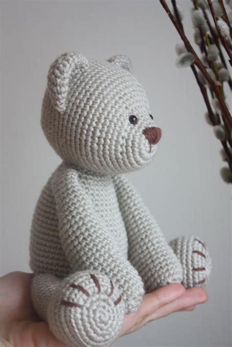 crochet teddy happyamigurumi new teddy bear pdf pattern
