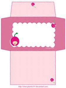 Cute Envelope Template Printable