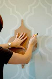 Nannygoat painted wallpaper