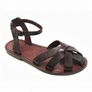 ea2c4015102401 dunkelbraune damen sandalen in italien von hand gefertigt aus echtem leder  gianluca das