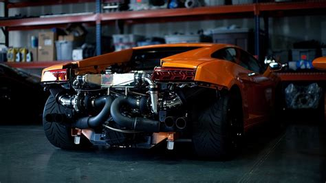Lamborghini Gallardo, Workshops, Twin Turbo, Modified