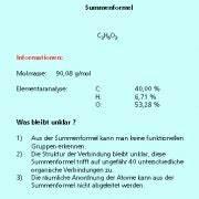 Chemie N Berechnen : summen und strukturformeln in chemie sch lerlexikon lernhelfer ~ Themetempest.com Abrechnung