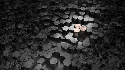 Abstract Black Texture Background Hexagon by Artstation Abstract Hexagon Background Berx