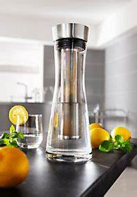 Glaskaraffe Mit Einsatz : wasserkaraffe mit aromaeinsatz jetzt bei bestellen ~ Markanthonyermac.com Haus und Dekorationen