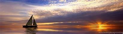 Wallpapers Sailing Widescreen Sunrise Background Desktop 3840