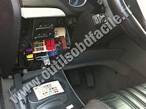 Obd2 Connector Location In Alfa Romeo Brera  2005 - 2010