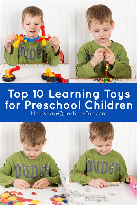 top 10 learning toys for preschoolers 521 | Top 10 Learning Toys for Preschool Children Moms Have Questions Too