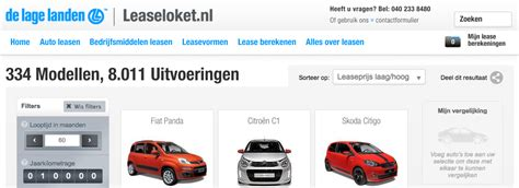 athlon car lease razendsnelle autozoeker voor athlon car lease sogeti nl