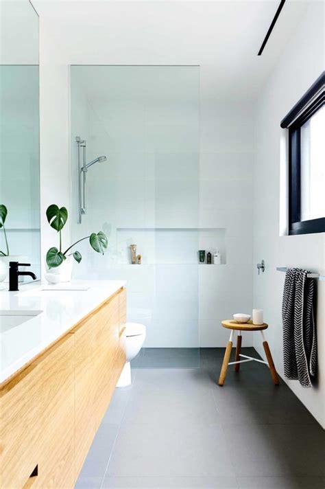 mid century modern bathroom design inspo