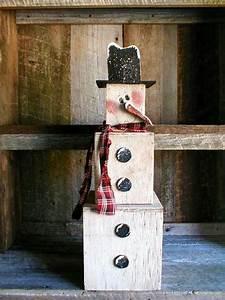 Pattern, For, Wood, Seasonal, Winter, Snowman, Stak