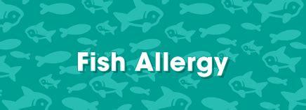 fish allergy