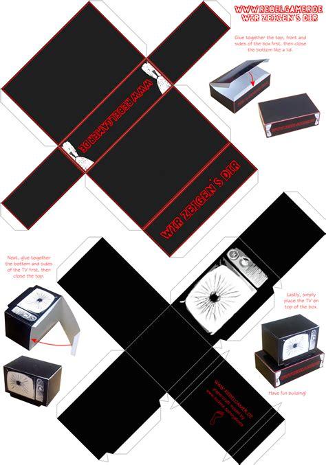 rebelgamer papercraft rebelgamerde