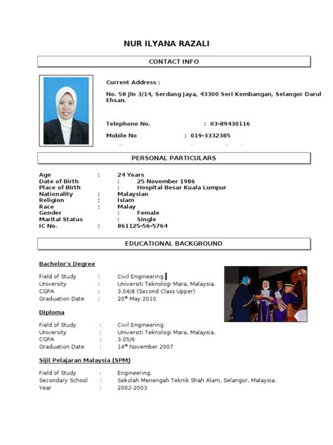contoh resume from anis