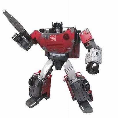 Transformers Cybertron Sideswipe War Netflix Deluxe Generations