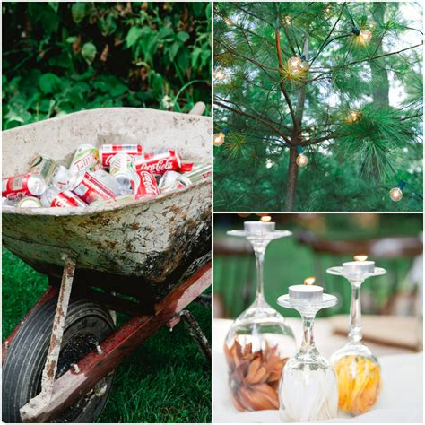 fall backyard budget wedding rustic wedding chic