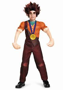 Ralph Size Chart Boy Deluxe Wreck It Ralph Costume For Kids