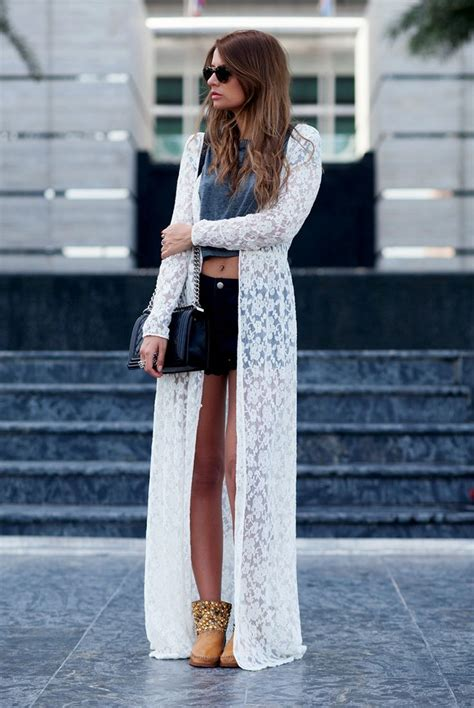 How To Wear Long Cardigans 2018 | FashionGum.com