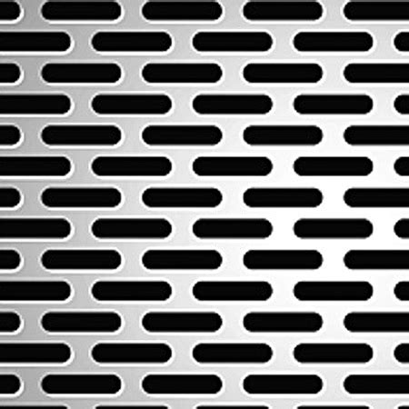 slotted perforated metal metals