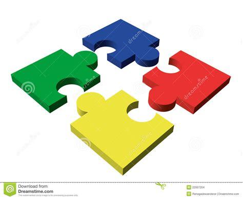 piece color puzzle stock images image